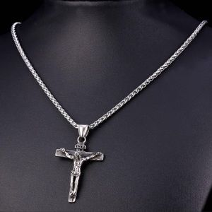 Other - New Stainless Steel Cross Necklace